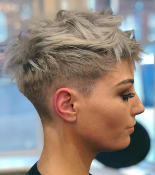50 Very Short Pixie Cuts for Fine Hair 2019 , Short Pixie Cuts