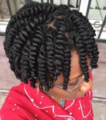 20 Easy Protective Short Haircuts for Natural Hair