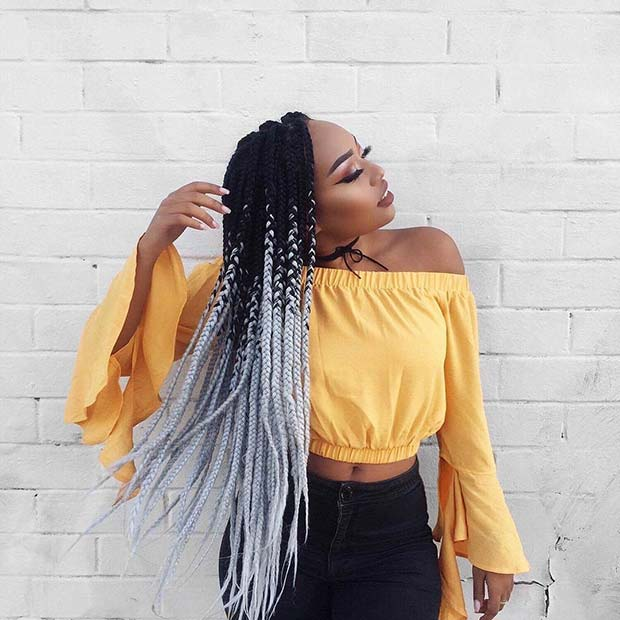 Best 10 Black Braided Hairstyles To Copy In 2019 Short