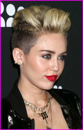 Very Short Pixie Cuts - Pixie Haircut Gallery Miley Cyrus