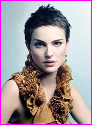 Very Short Pixie Cuts - Pixie Haircut Gallery Natalie Portman