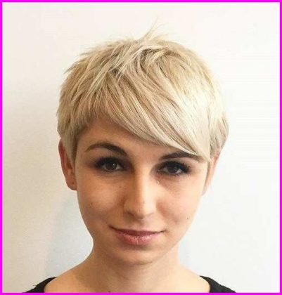 Choppy Short Pixie Cut with Long Bangs
