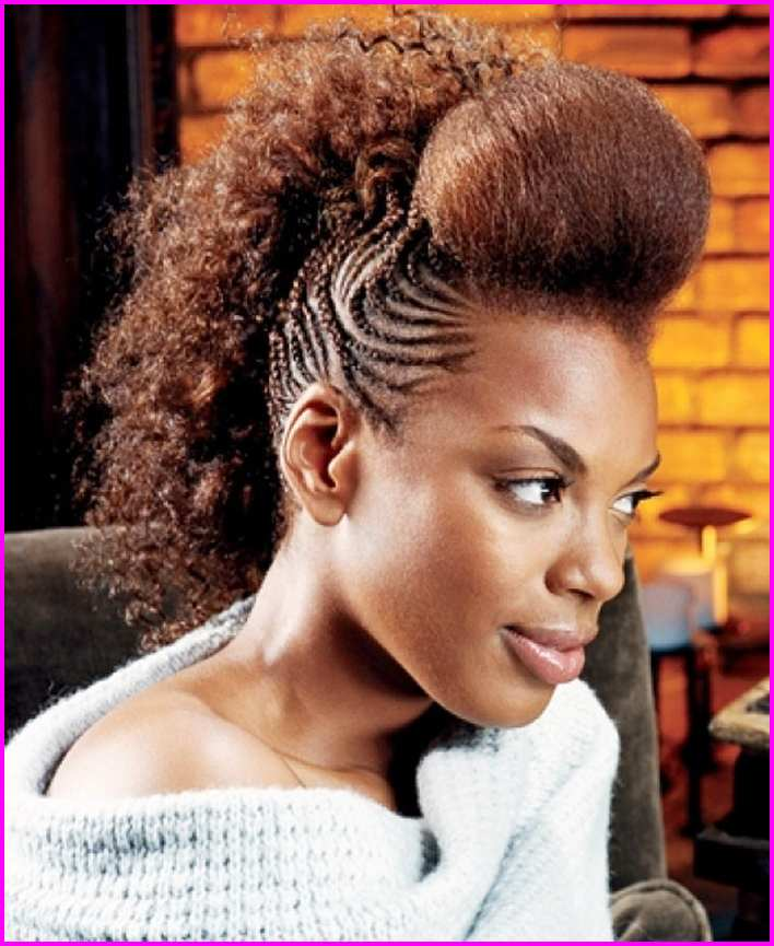 Mohawk Hairstyle for Black Women – Short Pixie Cuts