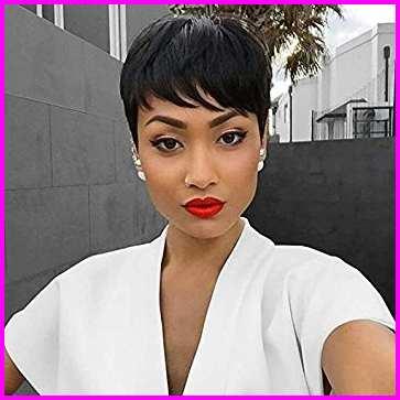 Short Pixie Cuts for Black Women