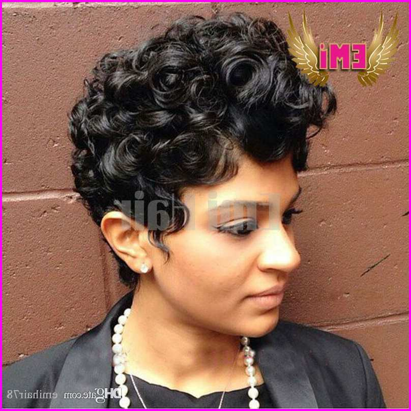 Short Pixie Cuts for Curly Hair – for Black Women