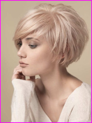 Short Pixie Cuts with Sweeping Bangs