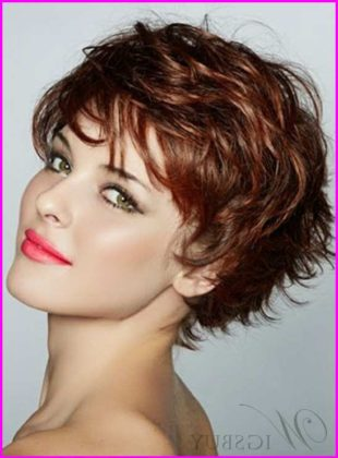 Shaggy Short Pixie with Volume