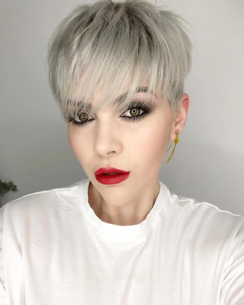 Pixie Cuts With Bangs in 2019