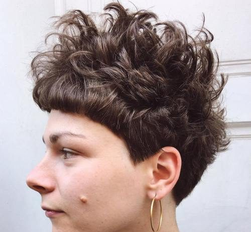 16 Standout Short Curly and Wavy Pixie Cuts