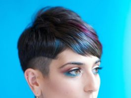 Blonde, Brown, and Red Highlighted Pixie Cuts for 2019
