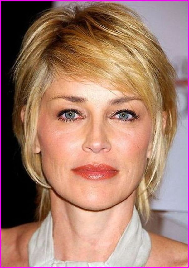 Sharon Stone Pixie Haircuts for Fin...