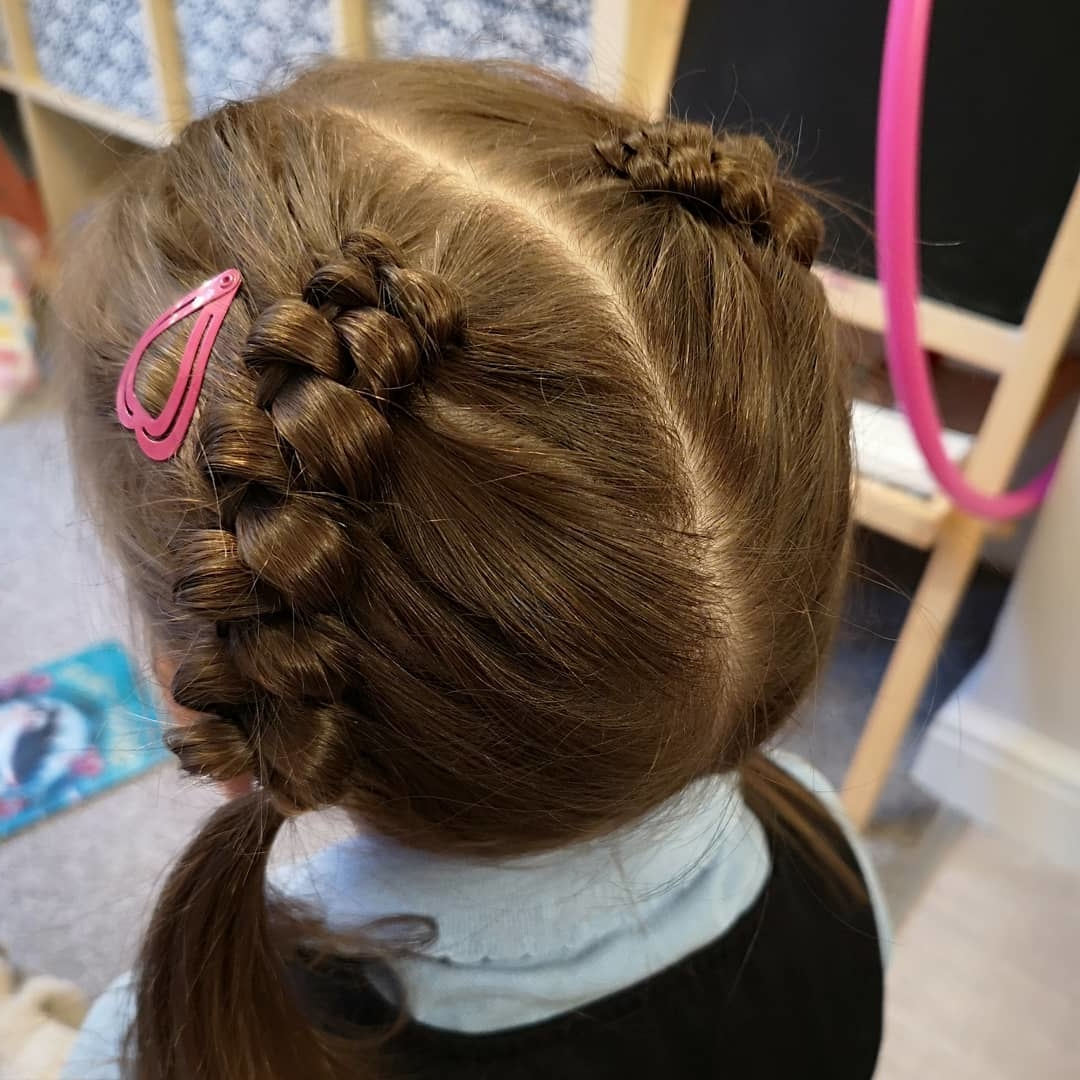 25 Easy Wacky Hairstyles For School Girl