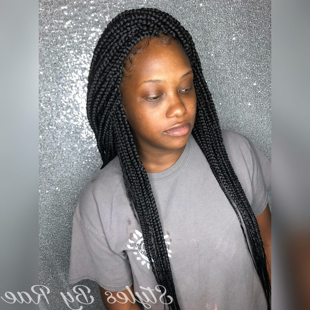 50 Short Feed in Braids for Black Women - Protective ...