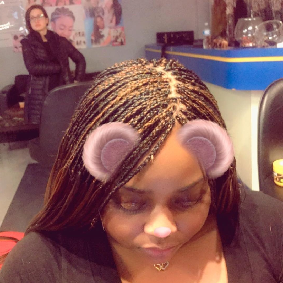50 Short Feed In Braids For Black Women Protective Hairstyles Short Pixie Cuts