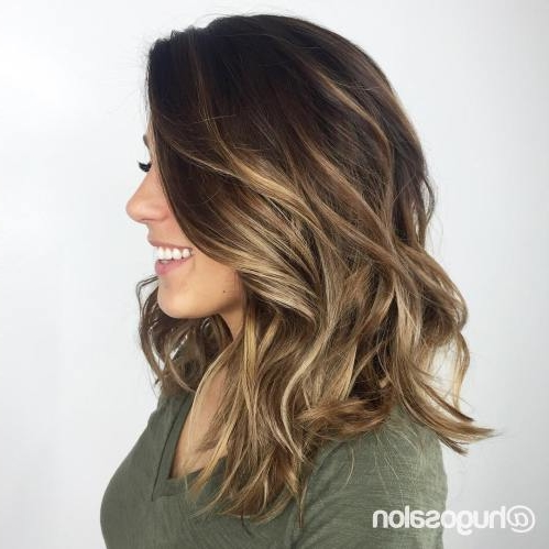 35 Balayage Hair Color Ideas For Brunettes In 2019 Short Pixie Cuts