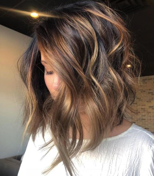 35 Balayage Hair Color Ideas For Brunettes In 2019 Short