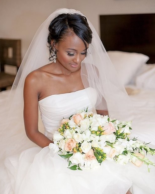 50 Dreamy Wedding Hairstyles For Long Hair: 50 Short Wedding Hairstyles For Black Women 2019