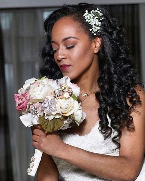 23 Evergreen Romantic Bridal Hairstyles: 50 Short Wedding Hairstyles For Black Women 2020