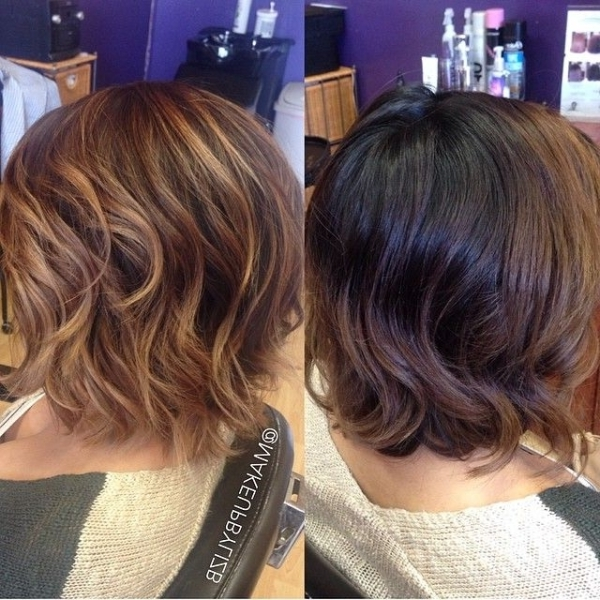 Short Hair Color Trends 2019