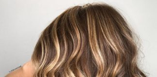 Short Hair Ombre Light Brown to Blonde