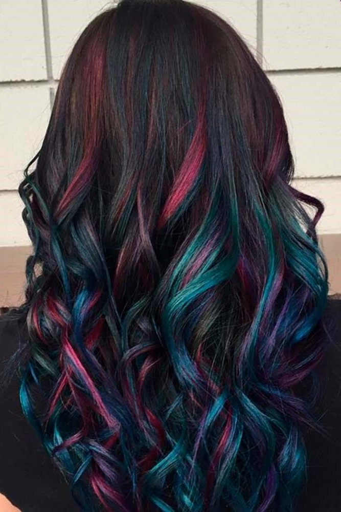 50 Purple Hair Color Ideas For Brunettes You Will Love In 2020 Short Pixie Cuts