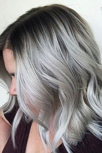 28 Impressive Silver Gray Ombre For Short Hair To Put You On Center Stage Short Pixie Cuts