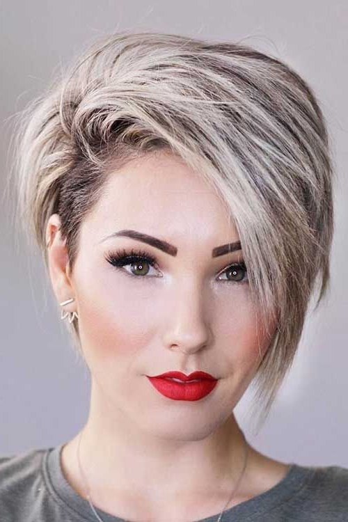 28 Super Cute Looks with Pixie Haircuts for Round Faces - Short Pixie Cuts