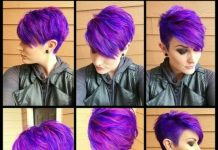 29 Trendsetting Purple Hair Color Ideas for Short Hair for a Chic Look
