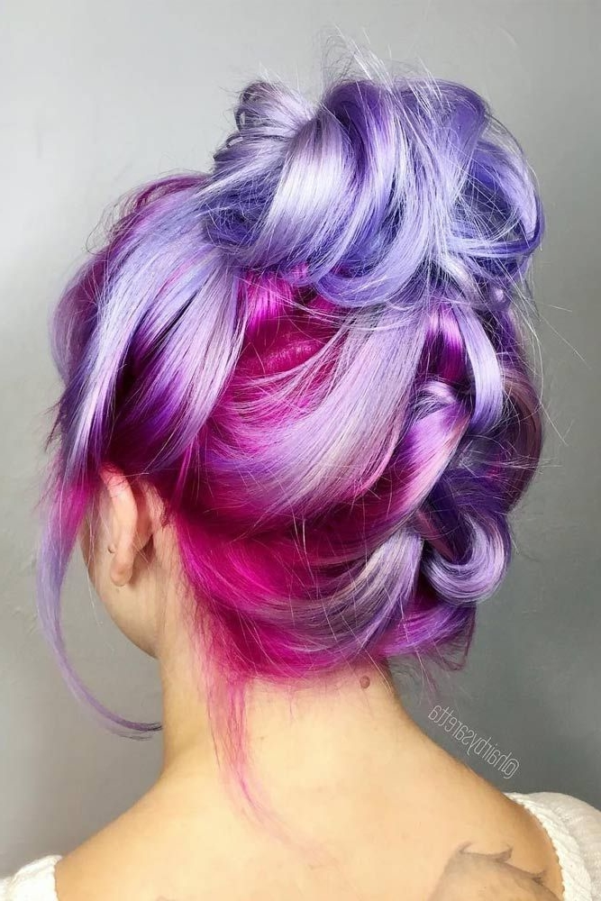 29 Trendsetting Purple Hair Color Ideas For Short Hair For A Chic Look Short Pixie Cuts