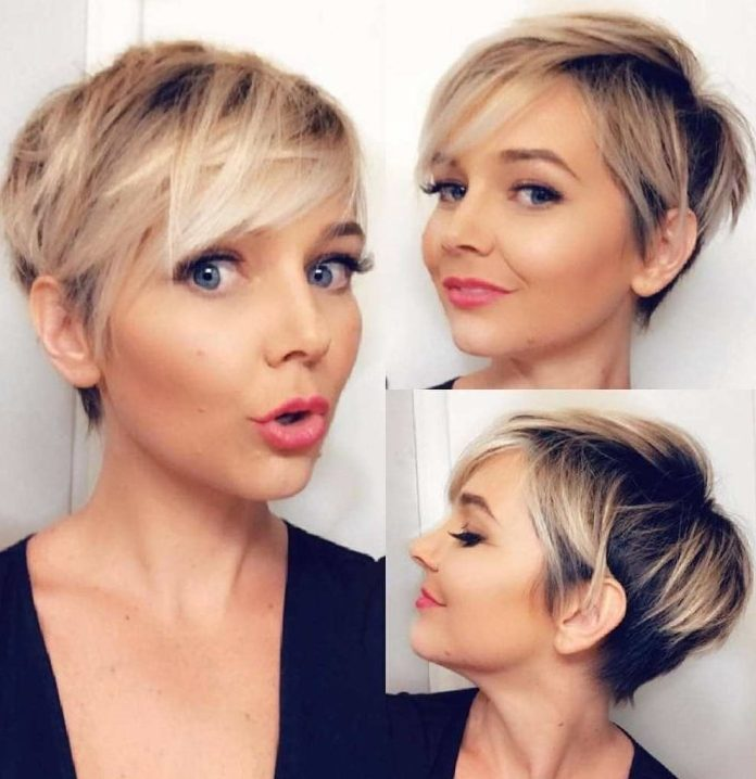 Short Pixie Cuts for St. Patrick's Day 2019
