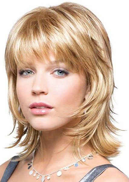 Long Layered Hairstyles With Bangs 2019 94