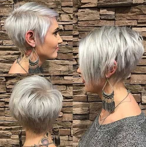 New Short Pixie Hairstyles For Women 2019