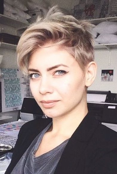 Latest Short Pixie Hairstyles For Women