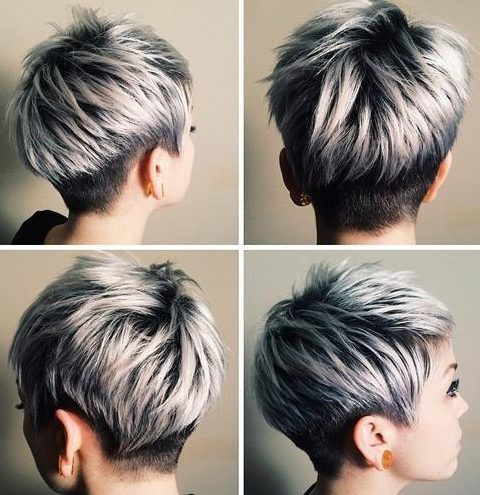 Hair Color Ideas For Pixie Haircuts In 2019 For Any Taste