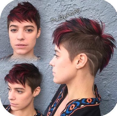 Hair Color Ideas For Pixie Haircuts In 2020 For Any Taste Short Pixie Cuts