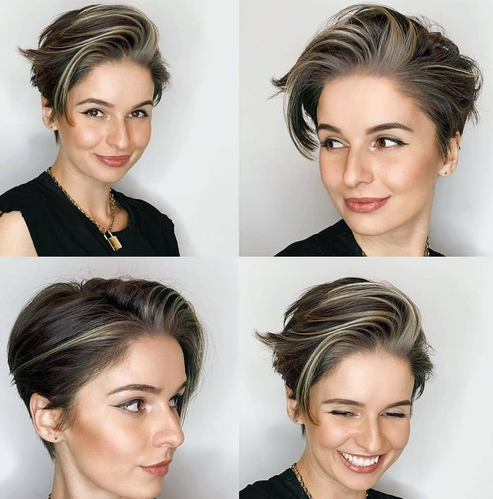 Long Pixie Cut from All Angles
