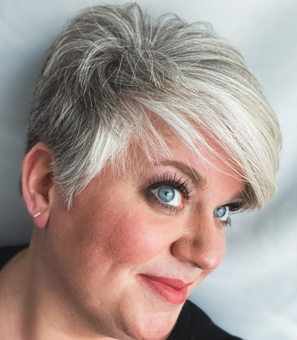 Pixie Cut for Women Over 60
