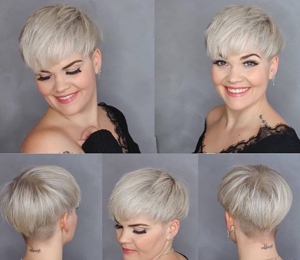 Pixie Cut from All Angles